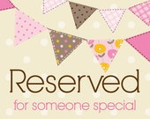 RESERVED  Thank you tags 3 dozen