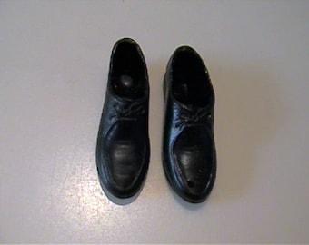 Vintage 1960's Ken doll black dress shoes