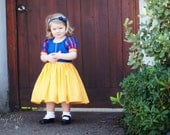 Snow White Dress - Size 2T-12