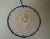 Pretty Dream Catcher with Mother of Pearl Centerpiece