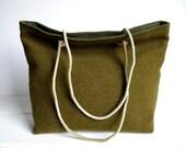 WWII Wool Tote Bag