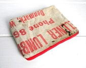 Recycled Lumber Apron Pouch