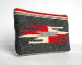 Navajo Clutch Recycled Vintage Tapestry