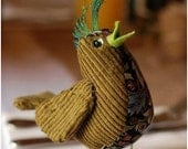 Bird tutorial (PDF) How to make a bird (fabric) epattern
