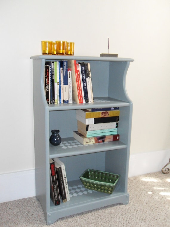 Petite Painted Bookcase