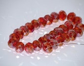 Jewelry Supplies Red Beads