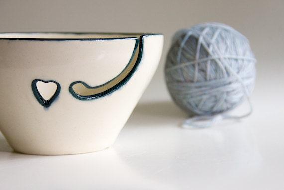 Yarn Bowl in Teal