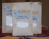 Laundry Soap Powder One Load Sample packet
