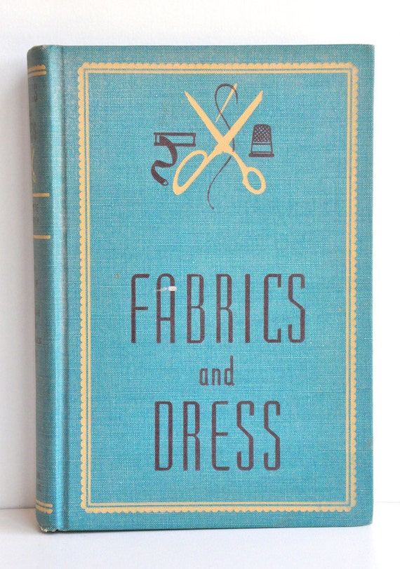 Vintage Fabrics and Dress Book