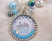 2013 GRADUATION GIFT Personalized Class of 2013 Bottle cap Pendant  Keychain Necklace, High School Grad Gift, Graduation Necklace