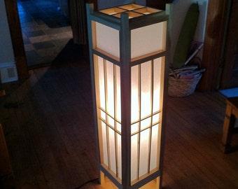 Jurojin 4' Shoji Floor Lamp
