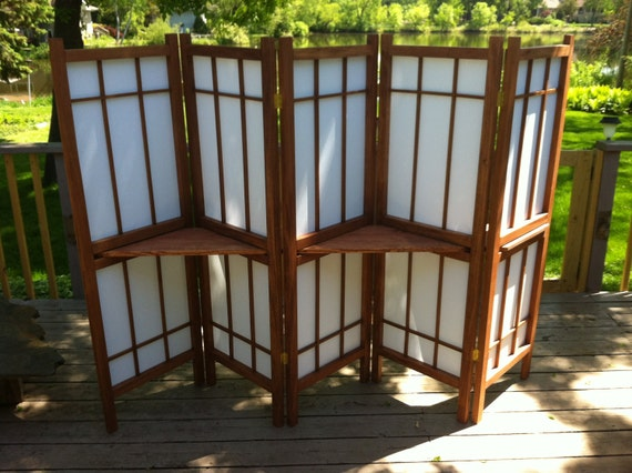 shoji screen shelf 2