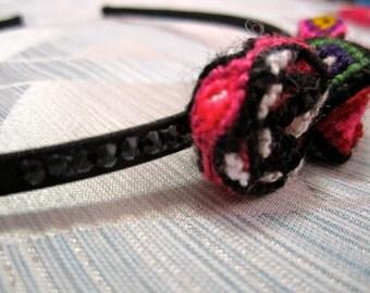 Crystal Rhinestone Friendship Bracelet Headband
