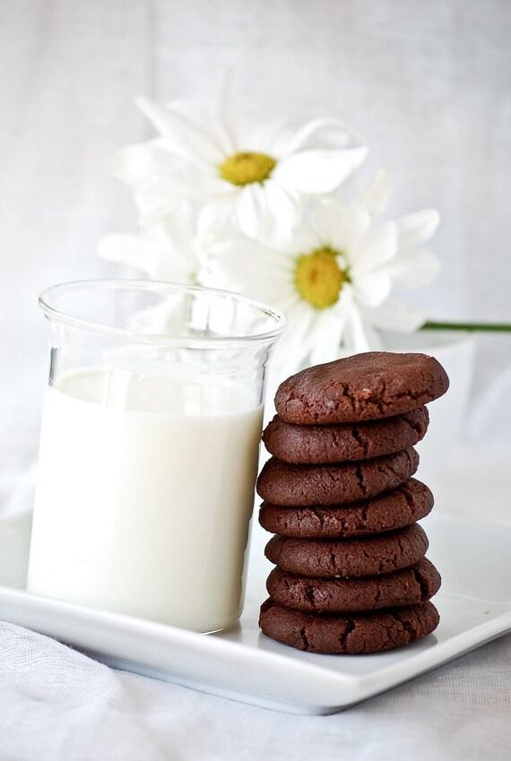 Chocolate & Fleur De Sel (sea salt)  Sablés - Cookies