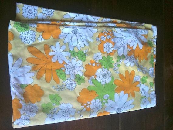 Flower Power Vintage Pillow Case