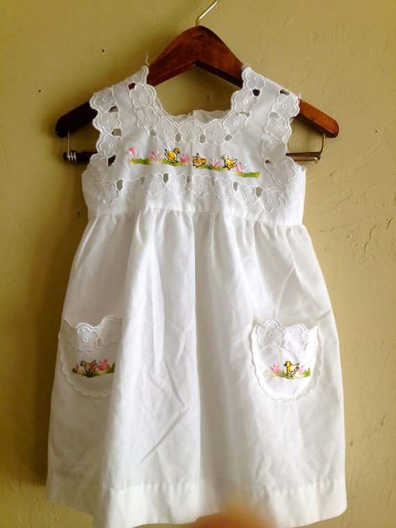 Prettiest Duck Dress 2T