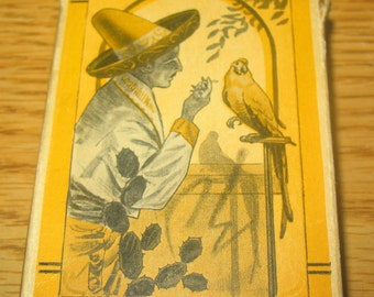 Caballero and Tropical Bird Centaur Art Deco Boxed Set of Playing Cards 1/2 Price Sale