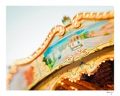 Carnival Photo - Carousel Photo - Summer - Merry-Go-Round - Nursery Wall Art - Pastels - San Francisco - Ring Around the Cable Car