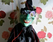 Meet Tabitha: A Spooky And Kooky Vintage Pelham Witch Puppet