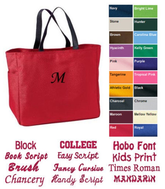 For Amy - Lot of 20 Custom Personalized Tote Bag for Bridesmaid Dance Cheer with Free Initial