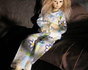 SD bjd doll Flowerprint pyjama