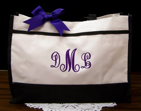 Personalized Tote Bag Wedding Bridesmaids Gifts