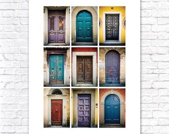 Doors of Europe (Colors): 11x14 Photography Fine Art Print