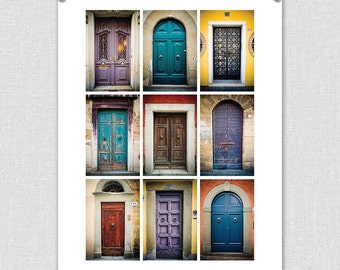 Doors of Europe (Colors): 8x10 Photography Fine Art Print