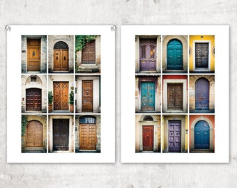 Doors of Europe: 11x14 Photography Fine Art Print Collection