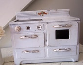 Reserved for Ruth-Vintage Toy Stove