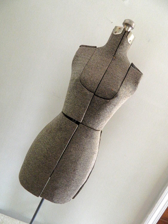 Vintage Dress Form Mannequin Display Photo Prop Sewing