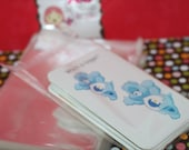 200 (A2) 4X5  CLEAR Self Seal Resealable Cello Plastic Envelopes/Bags