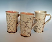 MADE TO ORDER - Dogwood Cups - hold 1 for Kristen