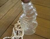 Avon 1970s Seahorse Bath Oil Bottle