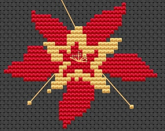 Cross Stitch kit - Aquiligia