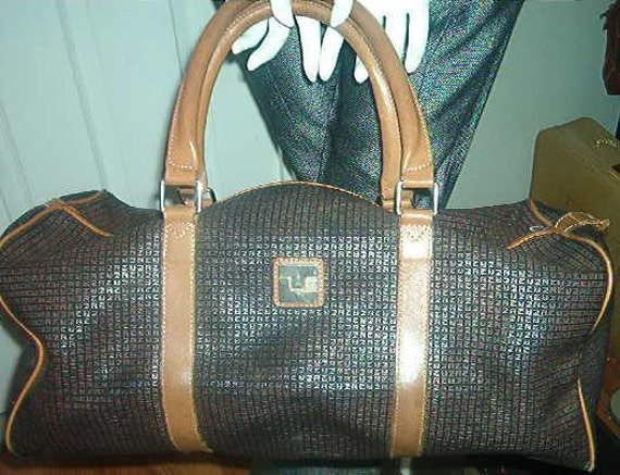 RESERVED FOR JEANIE - 4 Ted Lapidus Paris France Large Weekender Satchels Bags