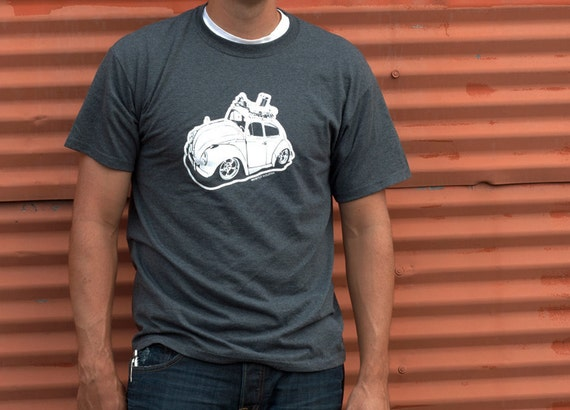 Volkswagen Bug T-Shirt, VW, Adult Size Large - FREE Shipping In The USA - Vee Dub