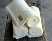 Nappy Off Mat ™ - 3 pack of Waterproof Organic Bamboo baby change mats.