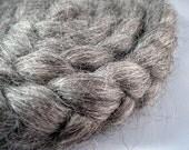 Natural Gotland Wool Roving LOTR -- 4 oz