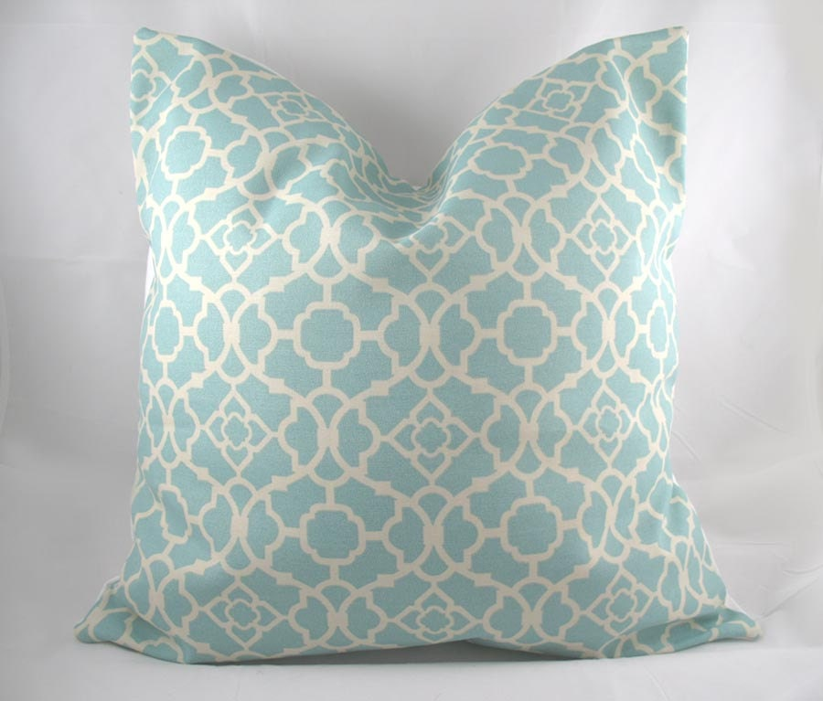 Decorative Pillows In Tiffany Blue : Decorative Pillow Cushion Covers Accent Pillow Throw