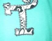 Monogramed Onesie or T-Shirt