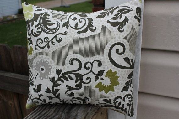 12x12 Olive Pillow Cover