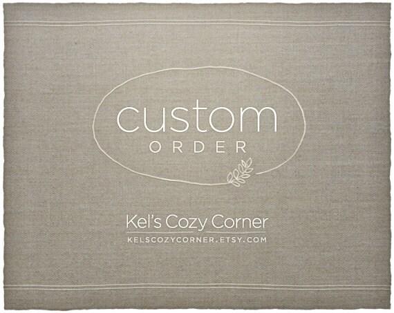 Custom Listing for Kim Watkins