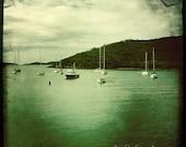 Boats at Magen's Bay, St. Thomas, US Virgin Islands (USVI), Print