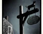 Black Dog Tavern, Martha's Vineyard, 4x4 Print