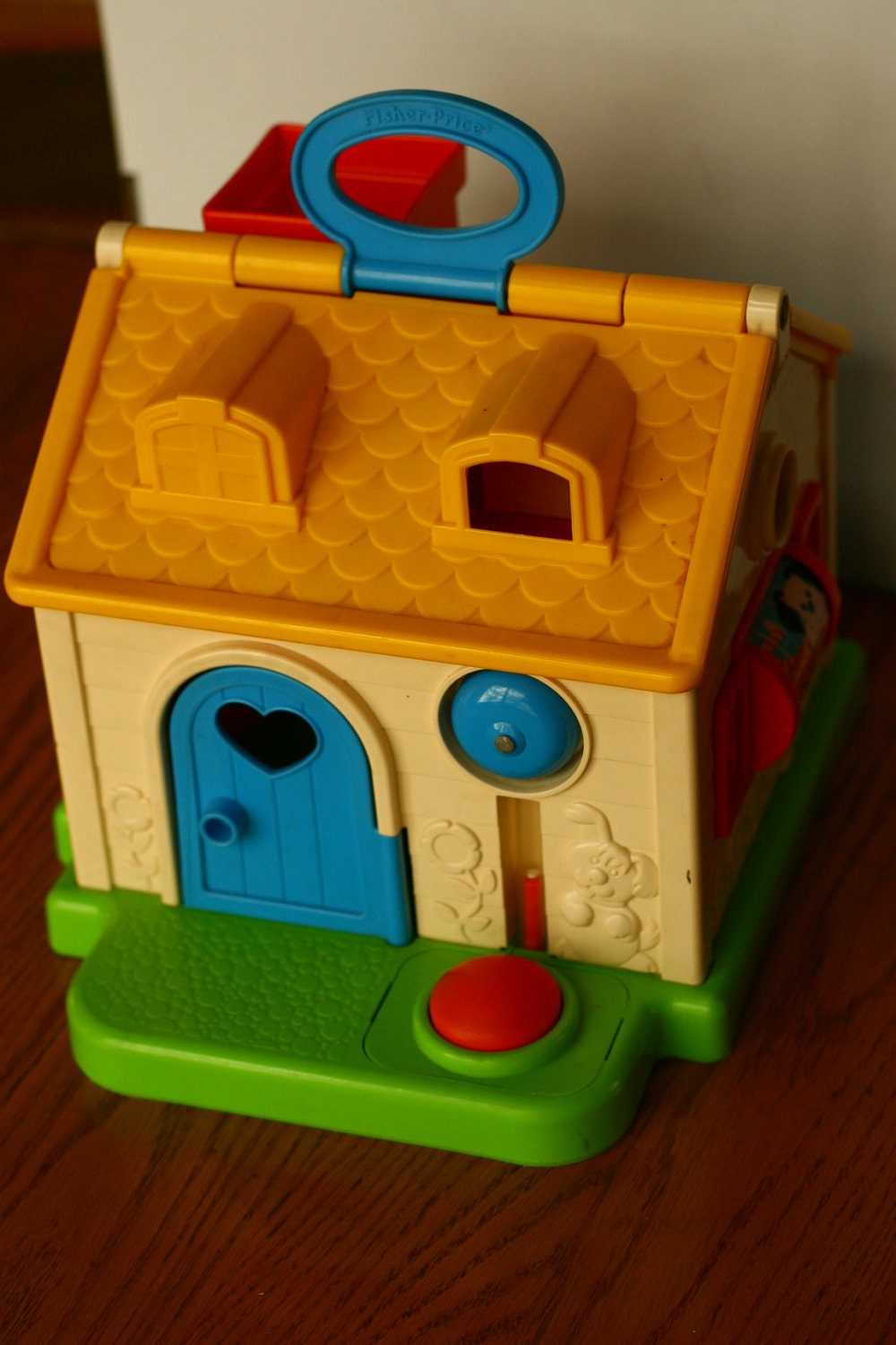 20 Off Sale Vintage 1984 Fisher Price Toy Toy House 80s
