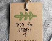 5 handmade Garden Labels