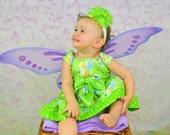Girls Tinkerbell Dress babys toddlers 5T thru 6X
