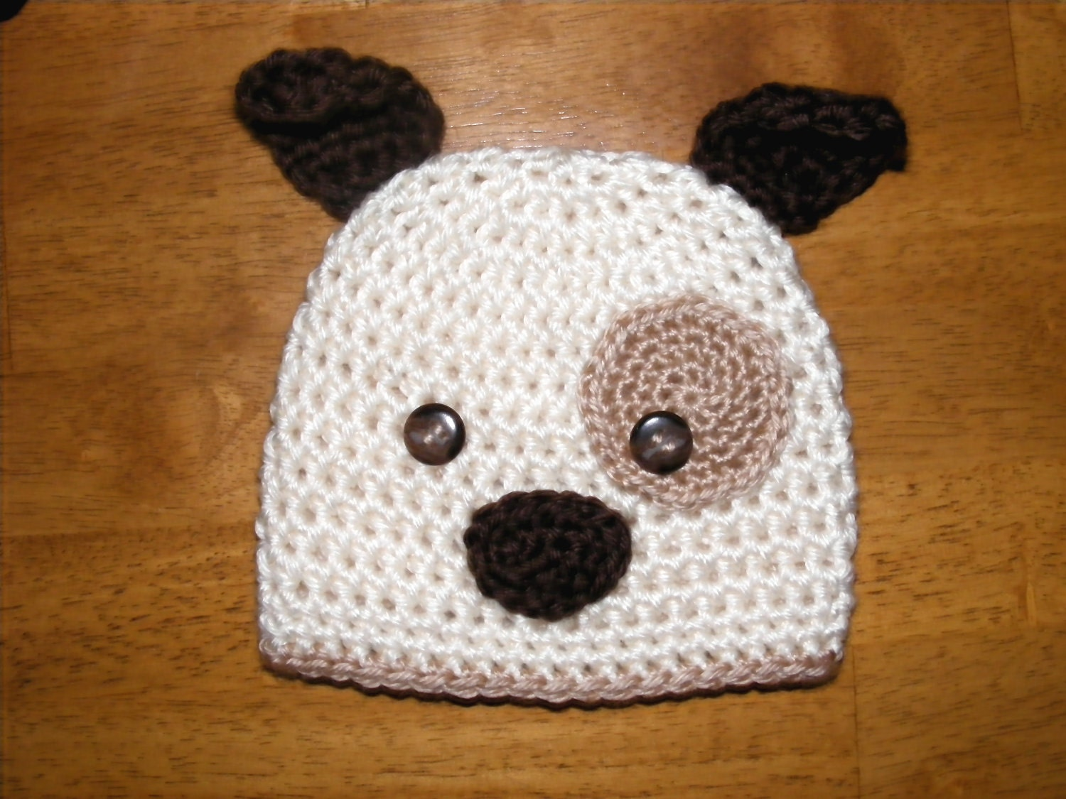 CROCHET PATTERN HAT Hound Dog Beanie and by Simply2Irresistible