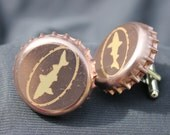Dogfish Head brewery classic logo beer cap cuff links cufflinks